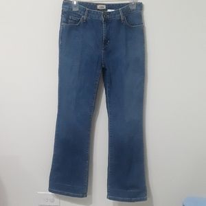 L.L.Bean high waisted blue Jean's size 6
